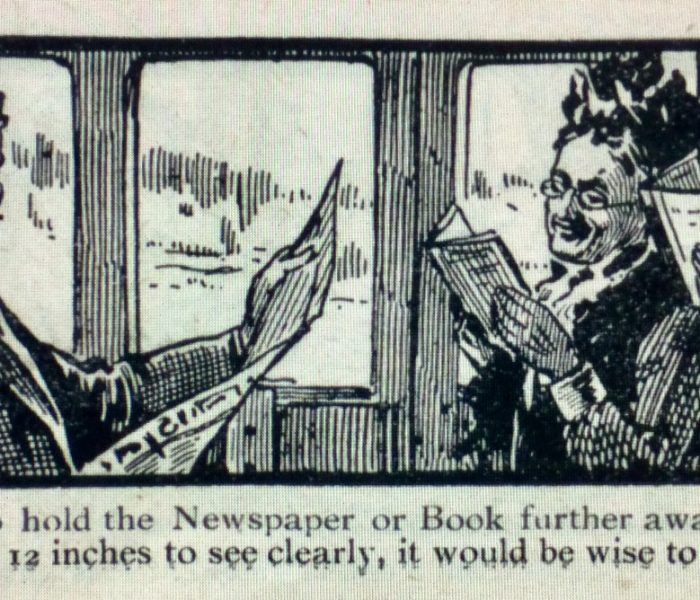 Eyestrain on the Train: Automatic Sight Testing, Victorian Reading Habits, and W. H. Smith's